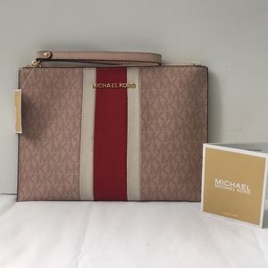 Michael Kors Jet Set Xl Zip Clutch